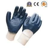 زرقاء نتريل قفازات أمان صناعيّة عمل قفاز مصنع