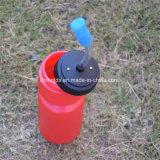 Flasche des roten Wasser-600ml mit kundenspezifischem Firmenzeichen