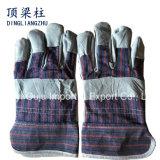 Перчатки заварки руки кожи Cowhide 10.5 дюймов защитные с Ce