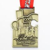 工場価格の卸売のカスタム優秀な品質の金属メダル