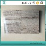 Sandblasted/smerigliatrice/ha lucidato/marmo d'argento dorato/beige del fiume per la parete/pavimentazione/scale