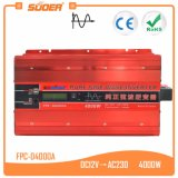 Suoer 12 볼트 220 볼트 4000W 순수한 사인 파동 힘 변환장치 (FPC-D4000A)