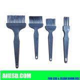 Escova de nylon do ESD do preto para o uso da sala de limpeza/escova industrial