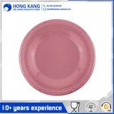 Плита обеда меламина OEM круглая для Kitchenware