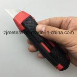 Безопасный отскок Deisgn с лезвием трапецоида и двойным покрашенным ножом резца общего назначения коробки руки ABS автоматическим Retractable