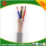 Fio do cabo elétrico e potência flexível cabo protegido Sheathed
