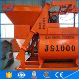2018 Nouveau type conduisant à la fabrication en Chine JS1000 Bétonnière