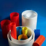 Extrusions en plastique PVC coloré personnalisé tube rigide