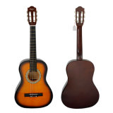 Chitarra poco costosa del classico di pratica dell'allievo di colore di figura di Cutway