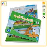 Stampa del libro di bambini del cartone di colore completo (OEM-GL022)