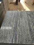 Cinzento claro veia Madeira lajes de mármore Serpeggiante Prata