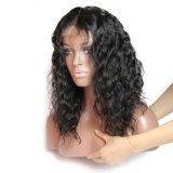 Dlme Черный короткий волнистые волосы Wig из синтетических материалов