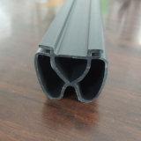 알루미늄 합금 단면도를 위한 검정 3 구멍 부속품