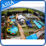 Parque acuático inflable fábrica de encargo, de PVC exterior inflables Juguetes de agua en Venta
