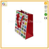 Изготовленный на заказ роскошный бумажный мешок подарка покупкы