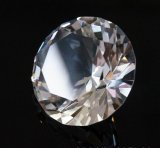 De Met de hand gemaakte Duidelijke Giften van uitstekende kwaliteit van de Ambachten van het Festival van de Decoratie van de Presse-papier van de Diamant van Crystale van de Diamant van het Glas