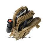 Пользовательский пакет Fanny 600d водонепроницаемый мешок для инструмента тактических полотенного транспортера на поясе