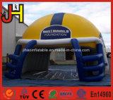 携帯用膨脹可能なスポーツのゲームの入口のフットボール用ヘルメットのトンネル
