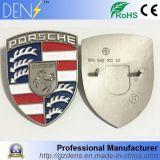 Emblemas con cresta de la parrilla de capo motor de la insignia del metal del coche para Porsche