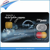 Cartões de PVC de Impressão CMYK cartão chip para uso comercial do banco do Governo