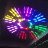 광속 반점 세척 이동하는 맨 위 단계 빛 공장