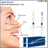 Do gel ácido Injectable secreto de Hyaluronate do Aqua enchimento cutâneo