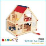 """Hölzerne Spielwaren - """"BENHO"""" Puppe-Haus (YT8306)"""