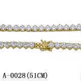 새로운 도착 은 보석 테니스 Necklace&Bracelet 공장 도매