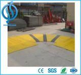 Zanja de plástico con tapa de la barrera de hierro para obras de carretera