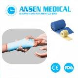 プラスター包帯の医学の骨ひびの整形外科のFiiberglassテープ取り替え