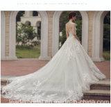 شريط [ودّينغ غون] يكمّل غطاء تول ثوب زفافيّ [م5468]