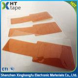 Folha resistente ao calor da película de Polyimide do revestimento do silicone