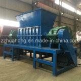 Máquina de corte de residuos de plástico, moqueta antigua/COCHE/neumático reciclado de metales de la máquina trituradora de residuos
