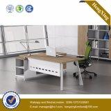 Bureau en bois joint par bibliothèque de gestionnaire de Module d'huche (UL-NM107)