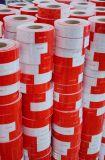 Veiligheid die Rode Witte Weerspiegelende Band voor Vrachtwagen waarschuwen