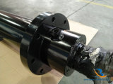 Cilindro idraulico della doppia di azione flangia della parte anteriore