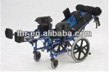 [ألومينوم لّوي] [سربرل بلسي] كرسيّ ذو عجلات قابل للتعديل