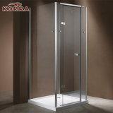 Frameless cabine de douche avec une bonne brillance aluminium (K-D2).