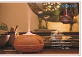 Patrón de madera de luz LED de 300ml Aroma DIFUSOR de ACEITES ESENCIALES