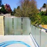 Горячим замороженный сбыванием Railing нержавеющей стали стеклянный для балкона с UK стандартом
