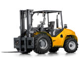 4.0t/5.0t 2WDの荒い地勢のフォークリフト、強い柔軟性