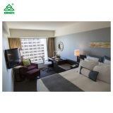 Hotel de luxo com mobiliário de Quarto Cama King Size mobília dos quartos de hotel em PU terminar