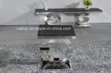 Edelstahl-Sofa-Tisch-Seiten-Tisch-Enden-Tisch-Wohnzimmer-Möbel