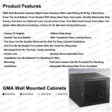 Governi fissati al muro di Telecommunication&Broadcasting di allegato di cremagliera del metallo della GMA 6u-15u