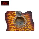 Selecciones de encargo de la guitarra acústica del estudiante de la fábrica de la guitarra para el principiante