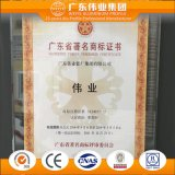 Aluminio de la venta directa de la fábrica/Aluminio/perfil de aluminio para el perfil de la placa de 95m m