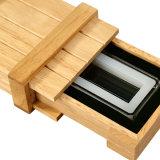 木の硬貨の包装を詰める木のハンドメイドの一義的なデザイン記念するギフト