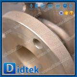 Valvola a saracinesca manuale completamente aperta del bronzo di alluminio C95800 di Didtek