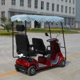 セリウムの公認の二重シートの電気スクーター(DL24800-4)