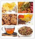 Betriebsbereite Nahrungsmittelverpackung und Waage